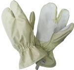Перчатки трехпалые мод 050, ткань арт 5673-29н29н30п-Рг